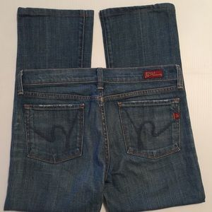 Citizens of Humanity Bootcut Jeans Sz 28 EUC